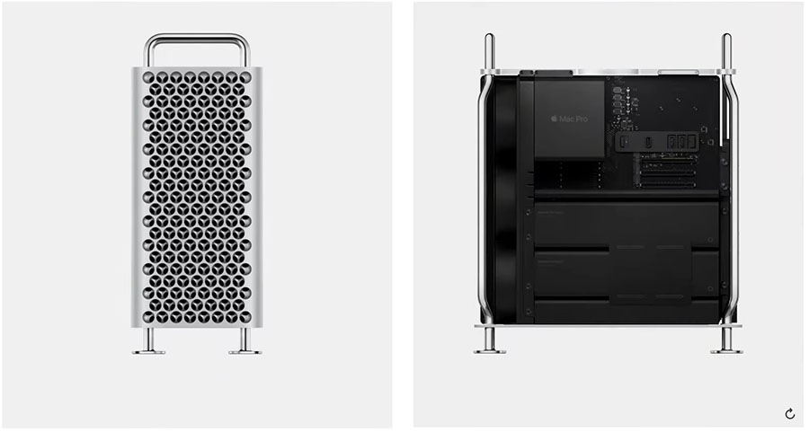 Apple Grater. New Mac Pro And Groundbreaking Pro Dsiplay XDR